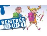 Rentrée scolaire 2020-2021 : dossier d'inscription cantine et accueil de loisirs